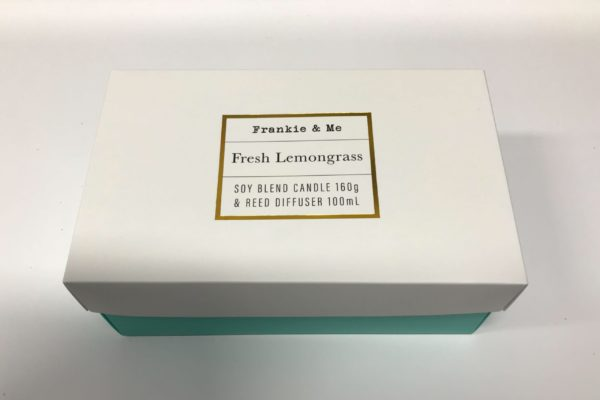 Lemongrass Boxed Candle Pack