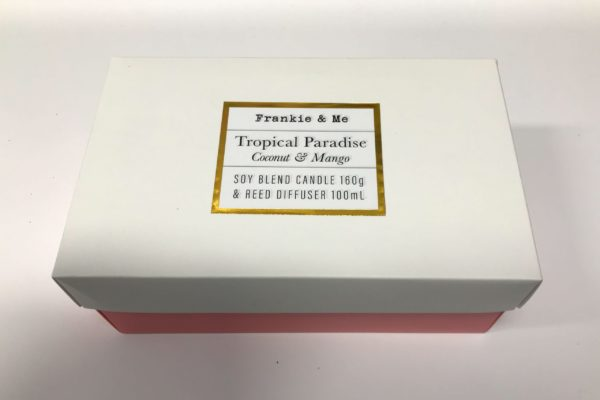 Tropical Paradise Boxed Candle Pack